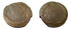 World Coins - Russia 1772 EM 5 Kopeks