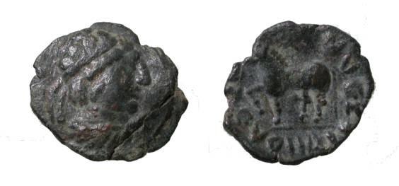 Ancient Coins - Kingdon of Choresmia, Ca 100/80 BC-45/50 AD