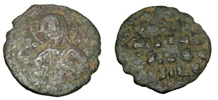 Ancient Coins - Anonymous 1000AD AE Follis S-1793