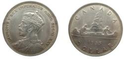 World Coins - Canada George V 1935 Dollar