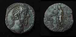 Ancient Coins - Commodus Æ Sestertius.