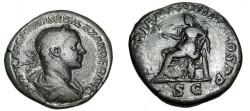 Ancient Coins - Severus Alexander 222-235AD AE Sestertius RIC 402