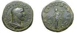 Ancient Coins - Philip I 244 -249AD AE Sestertius
