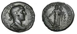 Ancient Coins - Gordian III 238-244 AD Nicoplis Moesia Inferior AE27 Tyche w anchor