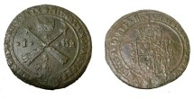 World Coins - Sweden Christina 1632-1654 1 Ore 1639