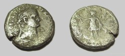 Ancient Coins - Vespaisian 69-79 AD Billion Tetradrachm Alexandria Standing L.