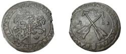 World Coins - Sweden Gustav II Adolf 1611-1632 Sater 1 Ore 1628  KM# 115