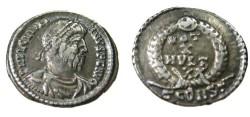 Ancient Coins - JULIAN II. 360-363 AD.AR Siliqua