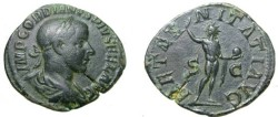 Ancient Coins - Gordian III 238 - 244AD Ae Sestertius