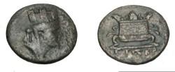 Ancient Coins - Seleucis & Pieria Syria Antiochia ad Orontem Time of Nero AE18 S-5188