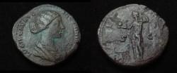 Ancient Coins - Lucilla Æ Sestertius
