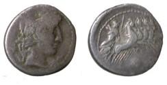 Ancient Coins - ANONYMOUS: 86 B.C. AR Denarius C. Gargonius M Vergilius Oguinius 86BC