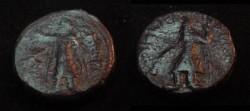 Ancient Coins - Kushans Kanishka 130-158AD