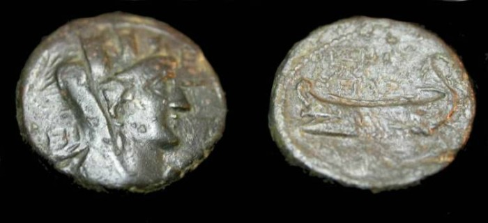 Ancient Coins - Phoenicia, Sidon AE20