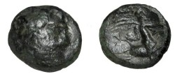 Ancient Coins - Thessaly The Magnetes AE17 196-146BC S-2138