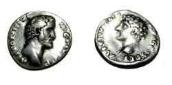 Ancient Coins - Antoninus Pius 138-161 AD AR Denarius S-4522 RIC 411b