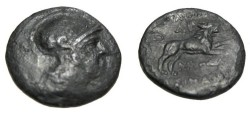 Ancient Coins - Thrace Lysimachos 323-298 BC AE18 S-6819