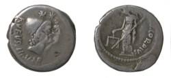 Ancient Coins - MN Cordius Rufus Silver Denarius