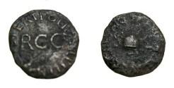 Ancient Coins - Caligula 37-41 AD AE Quadrans S-1804