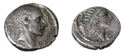 Ancient Coins - C. Coelius Caldus. 51 BC. AR Denarius