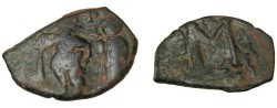 Ancient Coins - Constans II 641-668AD AE Follis S-1010