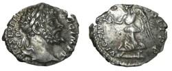 Ancient Coins - Septimus Severus 193-211 AD AR Denarius Vic cos II PP S-6370