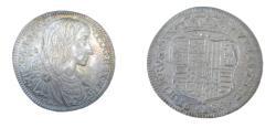 World Coins - Italy Carlos II Naples Tari 1689