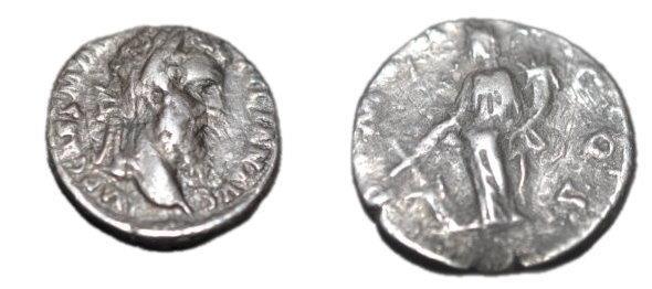 Ancient Coins - Roman Imperial Didius Julianus  193 AD   AR Denarius