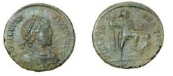 Ancient Coins - Arcadius AE2 384-408 AD Virtus Exerciti RIC 83c