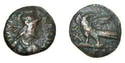 Ancient Coins - The East Goths Theodich I 493-526AD AE 40 Nummia 6.91gm BMC 13 MIB #74