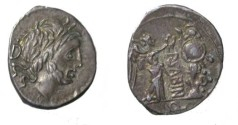 Ancient Coins - VETTIA (99 before J.-C.) Publius Vettius Sabinus Quinary - 99 BC