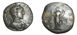 Ancient Coins - Julia Mamaea 235 AD AE Sestertius Felicitas  Avg RIC 670