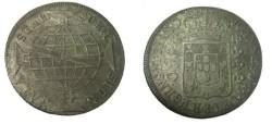 World Coins - 1818 Brazil 960 Reis