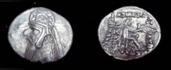 Ancient Coins - Parthian Kings: Mithradtaes II,