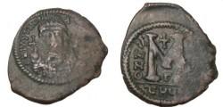 Ancient Coins - Justinian I 527-565AD AE Follis Theoopllis