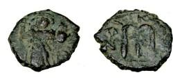 Ancient Coins - Constans II 641-668AD AE Follis S-1005
