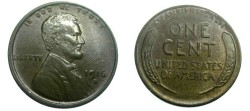 Us Coins - 1916-D Lincoln