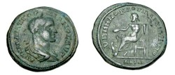 Ancient Coins - Gordian III 238 - 244 AD Marcianopolis Moesia Inferior AE26