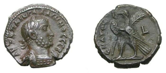 Ancient Coins - Gallienus 253-268AD Roman Egypt