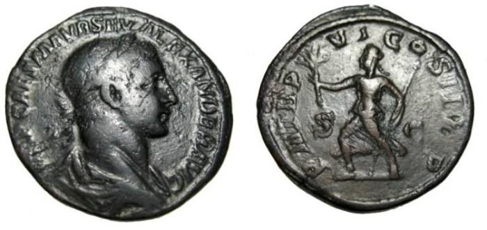 Ancient Coins - Severus Alexander 222-235AD AE Srstertius RIC 465