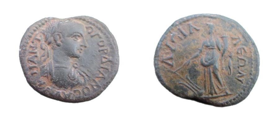Ancient Coins - Roman Provincial Phygria, Lysias Gorgian III 238-244 AD AE23 5.01 gm