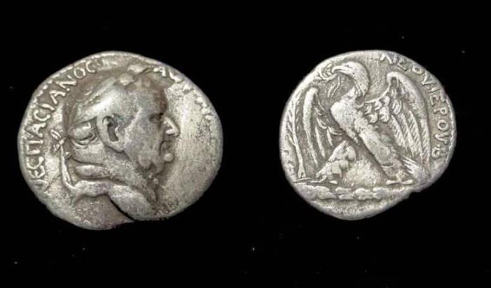 Ancient Coins - Vespasian, Syria Seleucis and Pieria