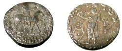 Ancient Coins - Azes II, Ca 35-BC - 5AD AR Tetradrachm