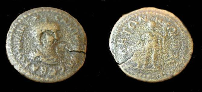 Ancient Coins - Pamphylia, Side, Salonia Wife of Gallerius 253-268AD