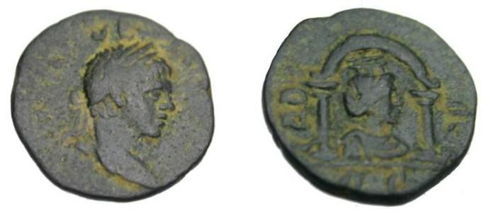 Ancient Coins - Syria, Selucus & Piera Elagabalus AE16 218-222 AD