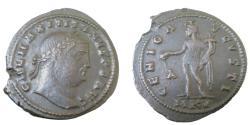 Ancient Coins - Maximinus II 309-313 AD AE Follis 27mm 7.75gm Cyricus Mint 3rd Officina struck 308-309AD