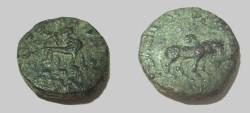 Ancient Coins - Skythian Azes II 35BC - 5AD AE Penta- Chalkon