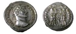 Ancient Coins - Maximianus AR Argenteus. 296 AD. MAXIMIANVS AVG,