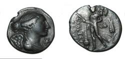 Ancient Coins - L. Valerius 108-107 BC AR denarius SRCV I 183; Syd 565 Craw 306/1; RSC 1; Valeria 11