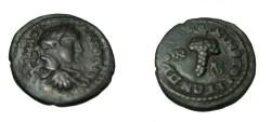 Ancient Coins - Elagabalus 218-222 AD Nicopolis Moesia Inferior AE17
